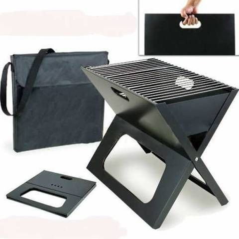 Outdoor Camping Portable & Foldable Charcoal BBQ 3