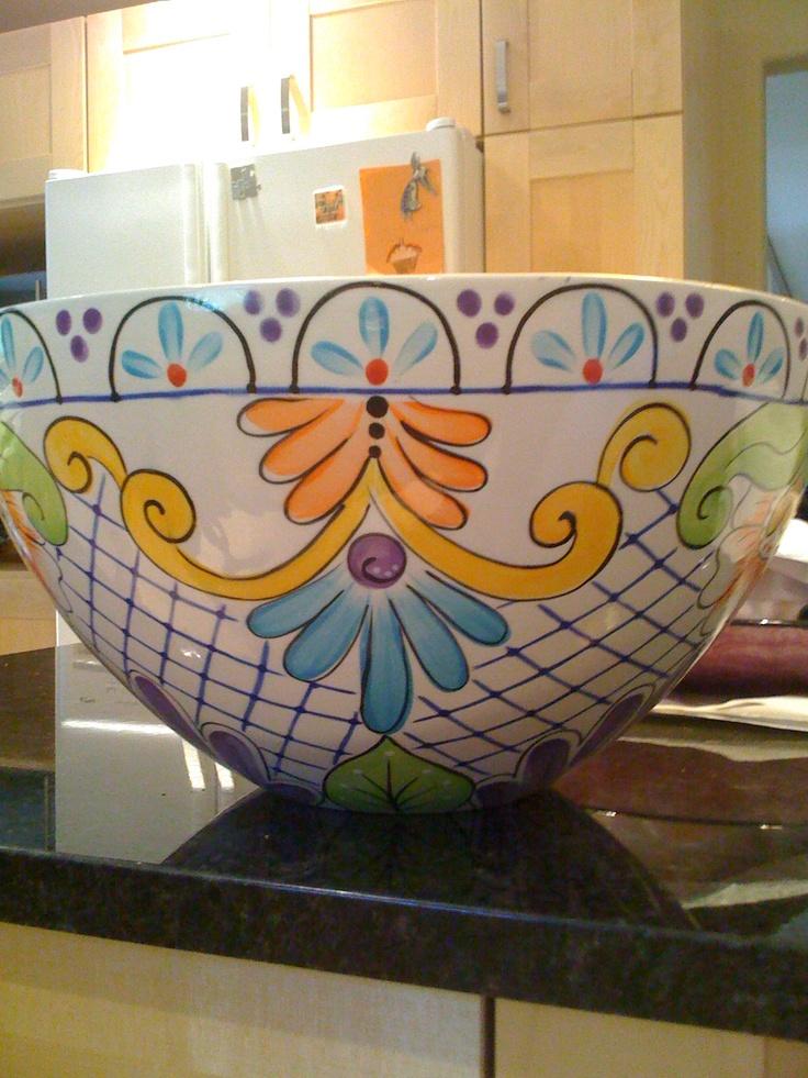 Italian pottery painting?