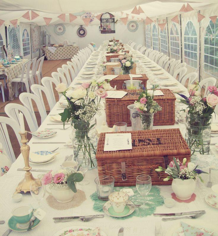 Wedding Breakfast Picnic
