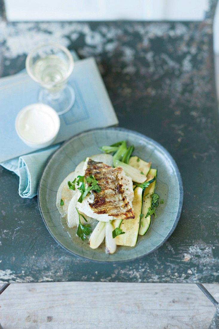 Gemüse mit Zander vom Grill   http://eatsmarter.de/rezepte/gemuese-mit-zander-vom-grill