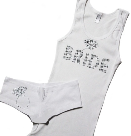 Bride Sleep Set  - an amazing Lingerie Shower Gift or Bachelorette Party Gift!  Just $27.99 at The House of Bachelorette!