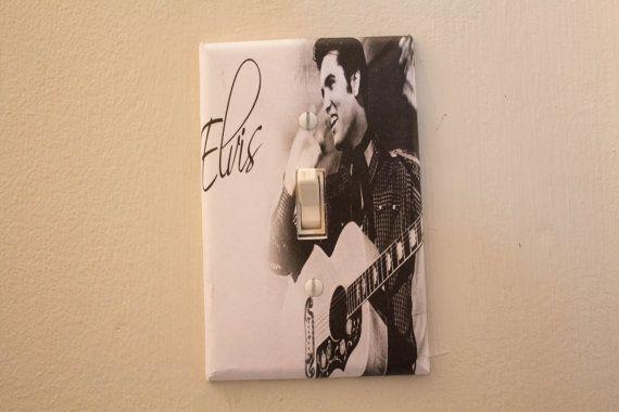 Elvis Presley plaque d'interrupteur de lumière par BTPart sur Etsy