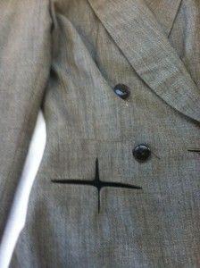 1940's lady's Jacket via: Worn Through. DIY inspiration for detail