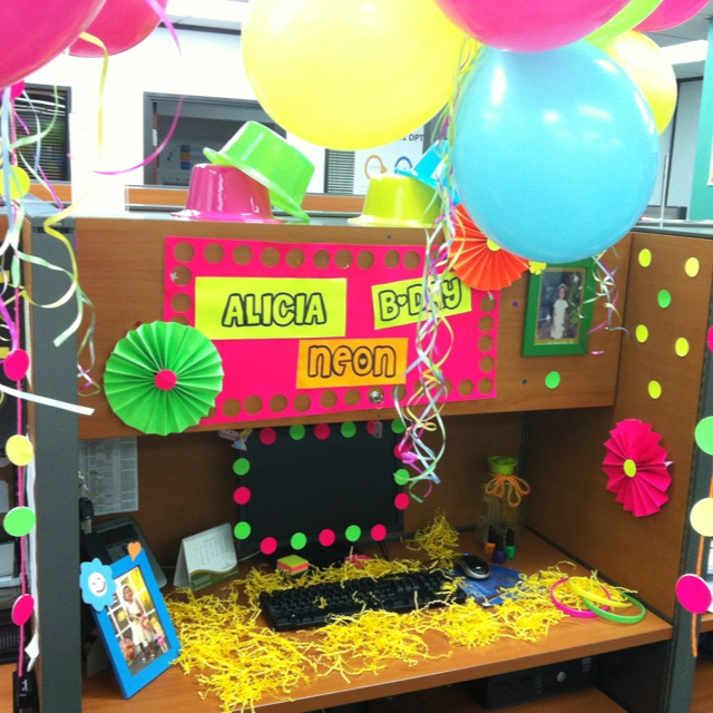 38 best Office Birthday images on Pinterest Birthday decorations