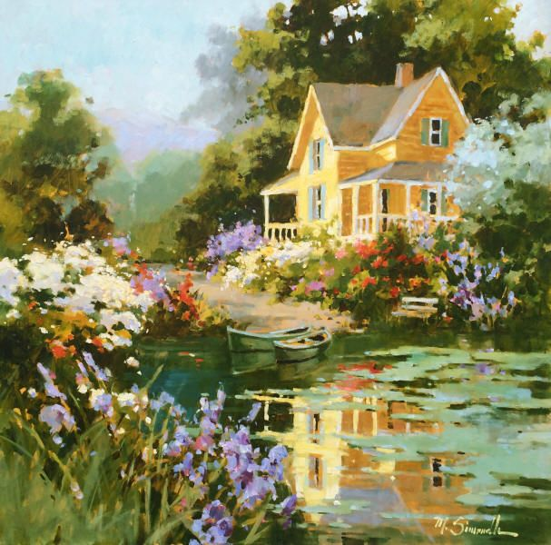 Marilyn Simandle - Galleries in Carmel and Palm Desert California - Jones & Terwilliger Galleries - Marilyn Simandle