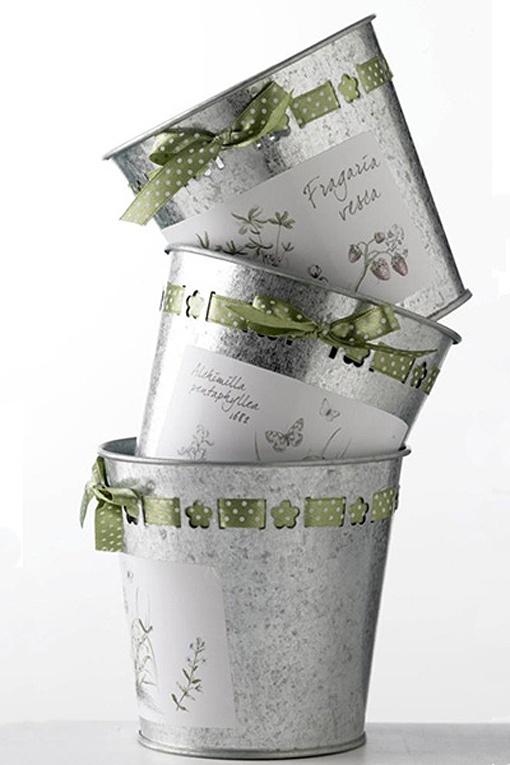 Macetas de zinc Diy Planters, Planter Pots, Ideas Para, Diy Ideas, Rustic Decor, Flower Pots, Decoupage, Crafts, Inspiration