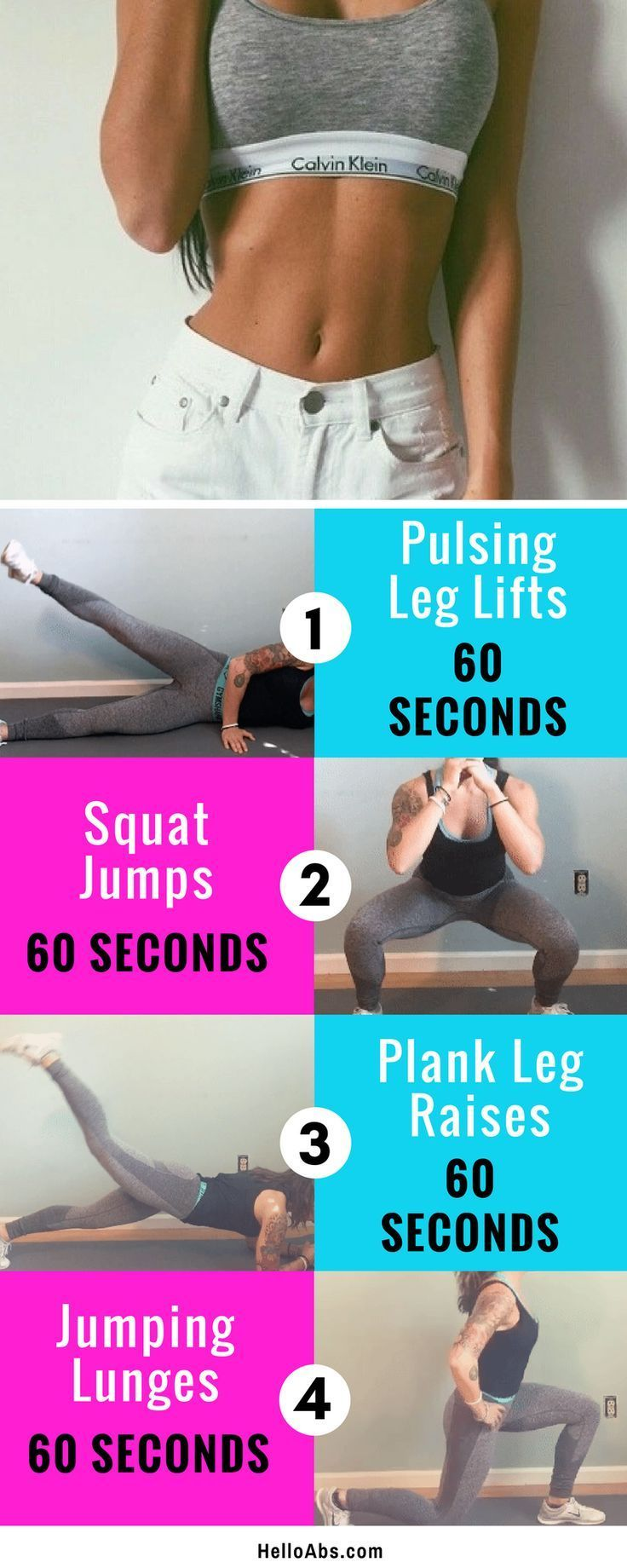 4 Exercises To Lose Belly Fat In 1 Week