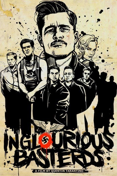 This was boring to me.  Didn't finish watching it.  Inglourious Basterds - great acting, a massive amount of blood, but still a must-see if you're against nazis