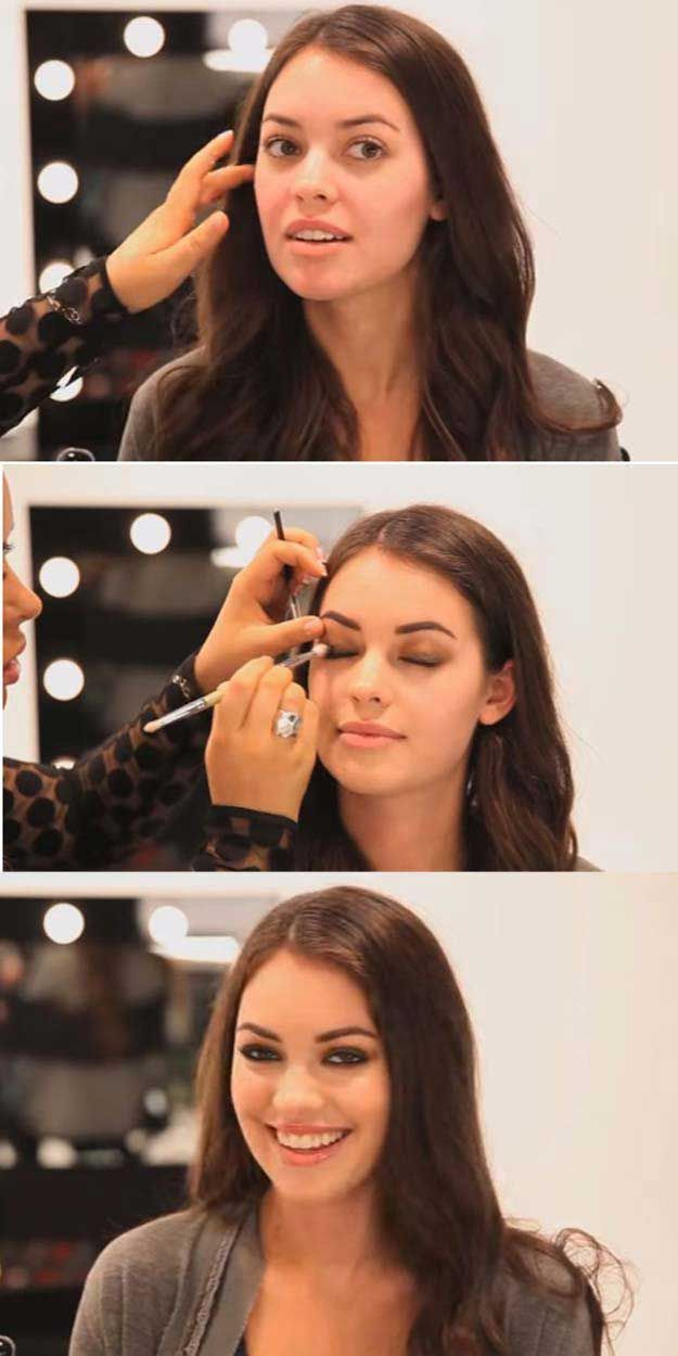 Best Celebrity Makeup Tutorials - Mila Kunis: Celeb Step By Step Makeup - Step By Step Youtube Videos, Tips and Beauty Secrets From All the Top Celebrities Like Kylie Jenner, Taylor Swift and Ariana Grande - Hair Style Ideas, Eyeliner and Eyebrow Tricks and How To Get Perfect Kat Von D Hairstyles - thegoddess.com/celebrity-makeup-tutorials
