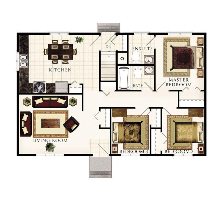 8 best modular home floor plans images on pinterest for Home hardware cabin plans