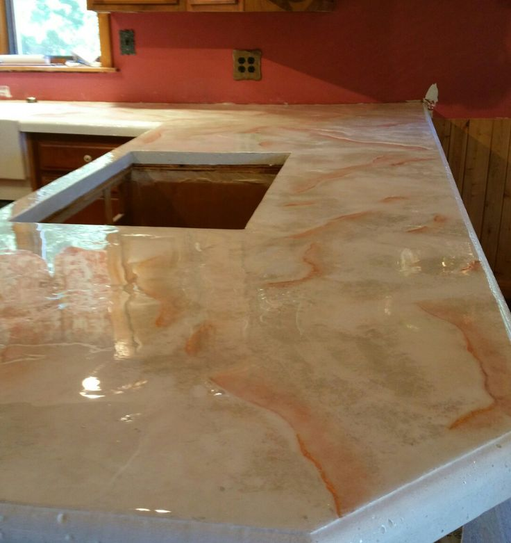 Countertop Jobs : 17 Best images about Concrete countertops and other jobs we have done ...