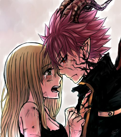 'Natsu! It's me, Lucy! I know you're in there! Look at me! Come back! Remember who you are! You have to come back! Please...'