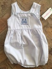 NWT****Shrimp And Grits Kids Smocked  Bubble 3T
