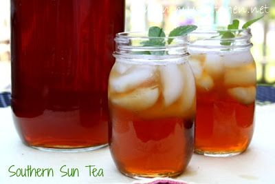 Southern Sun Tea {My Favorite Summer Drink}