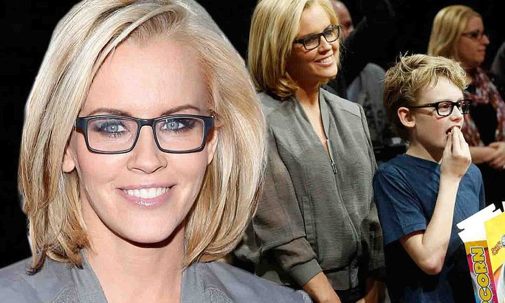 Jenny McCarthy enjoys bonding time with her son Evan at the circus
