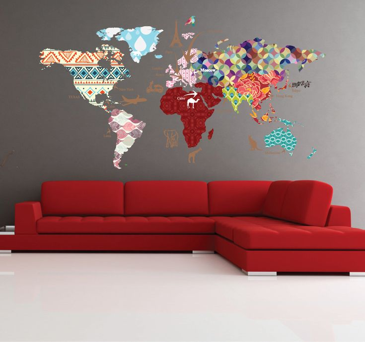 The 25 best clear world map ideas on pinterest cases s8 phone cultural world map decal pattern map wall decal clear vinyl decal nursery room gumiabroncs Images