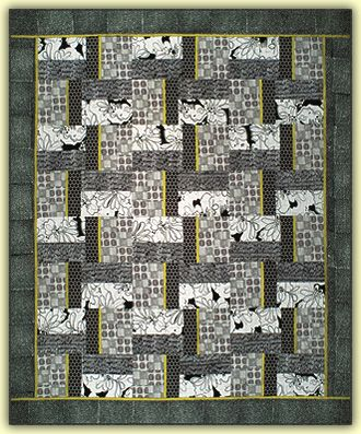 1000 images about grey and black quilts on pinterest for Black white and gray quilt patterns