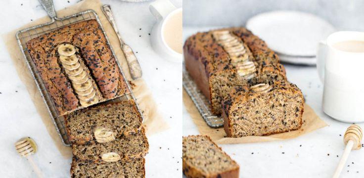 Bananowy chlebek na miodzie - energetyczne śniadanie w stylu mistrzów