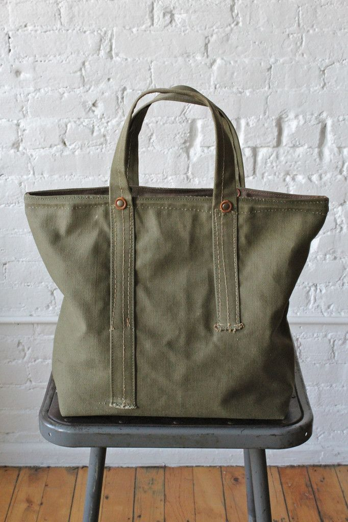 WWII era Canvas Tote Bag More