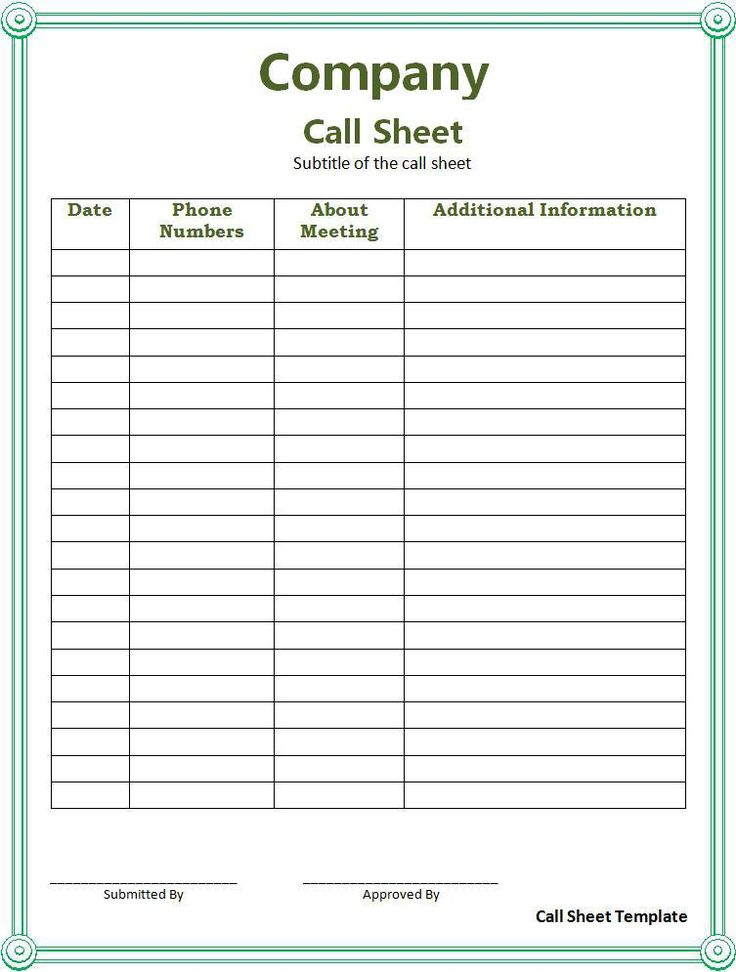 Best 25+ Sign in sheet template ideas on Pinterest Sign in sheet - sample call sheet