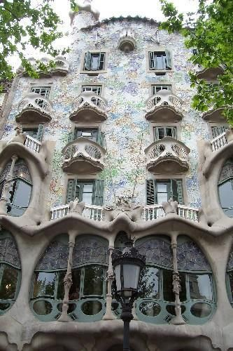 Gaudi in Barcelonia