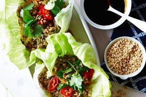 Turkey san choy bow