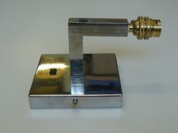 Wall Bracket With One Switch Nickel Plated
