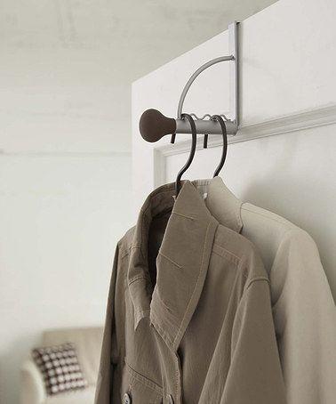 Another great find on #zulily! Over-the-Door Hook Hanger #zulilyfinds