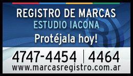 nombre y apellido como marca registrada en argentina