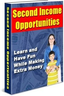 Second Income Opportunities - Learn and Have Fun While Making Extra Money