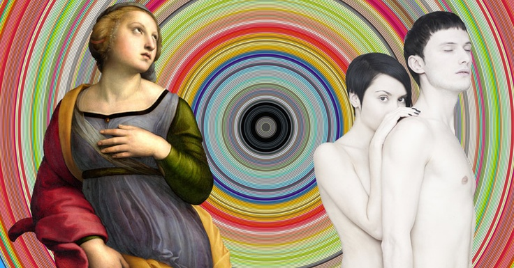 Fine Art crashing into Graphic Design creates Hybrid Art. Emerging Art, Art remix, Art Luxe, Irish Art, Thomas Robson Artist #art #emerging #artremix #artluxe