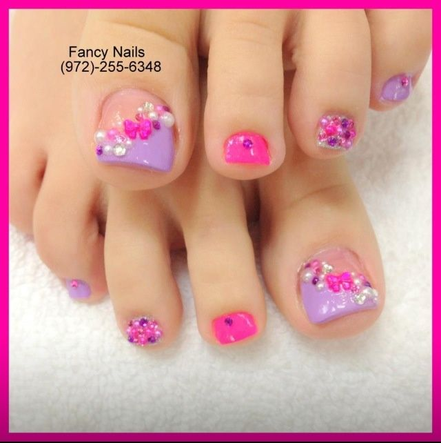 Framed Nail Art Designs For Nail Salons: 2142 Best Pedicures Images On Pinterest
