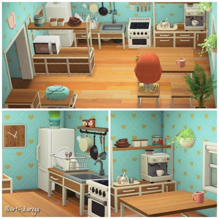 Yet another Ironwood Kitchen : ac_newhorizons in 2020 ... on Animal Crossing Ironwood Kitchen  id=89233
