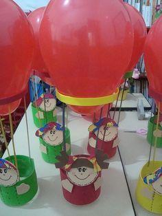 A Arte de Ensinar e Aprender: Balão com bexiga porta-guloseimas