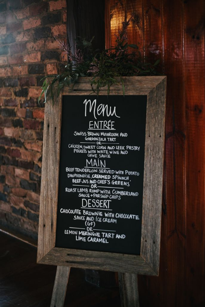 Our Blackboard menu. Using this idea helped us cut back a little on costing for menus.