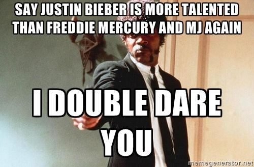 Freddie Mercury Meme Generator | ... is more talented than freddie mercury and mj again i double dare you