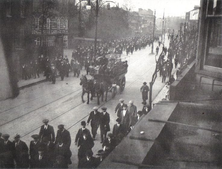 Spurs Fans Leaving Tottenham Football Ground 1905 (pretty sure they lost)