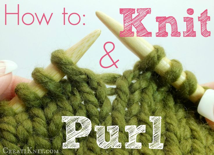 Teaching Knitting Rhyme : How to knit and purl rhymes knits