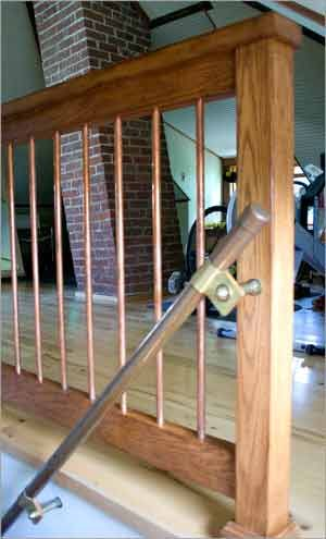 Change Brass To Iron Could Be Cool Diy Stair Railing
