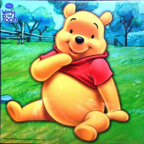 Winnie the Pooh and Art Canvas Wall Decorations Great for childrens Room