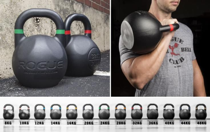 Rogue Competition Kettlebells | Rogue Fitness