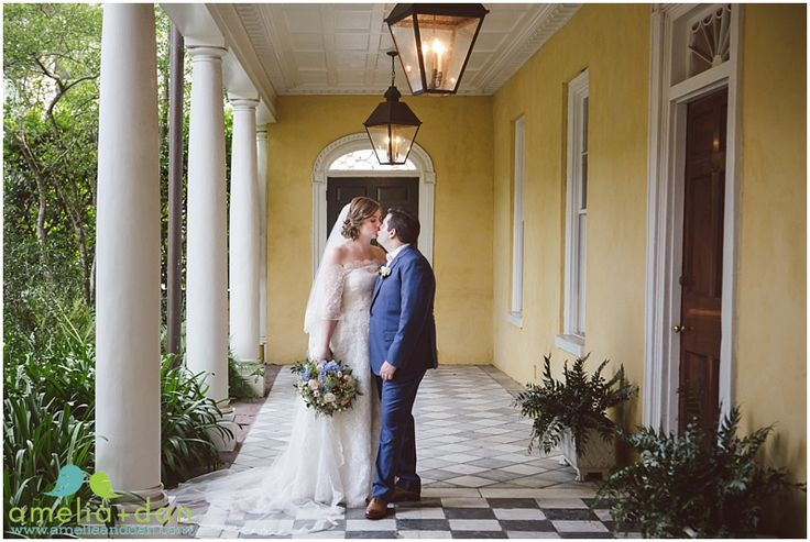 The William Aiken House in Charleston, South Carolina | Historic wedding and event venue | Photograph by Amelia + Dan