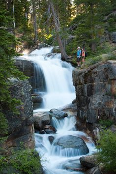 See the spectacular waterfalls in Shirley Canyon- a must see when visiting Lake Tahoe. A unique hike that offers spectacular views of the granite rocks, waterfalls and tranquil lake at the end of your adventure.