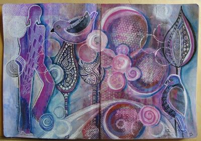 Marja's Creativity (paintings, art journals etc)