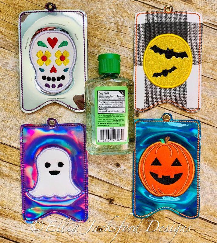 Halloween Hand Sanitizer Set 5x7 Ellia Jacksford Designs Hand