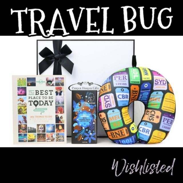 wishlisted_app Is your #Valentine a #travel bug? This pack from @pamperhampergifts might be just perfect for #Valentine'sDay #GiftsForHer #giftsforHim #Valentine'sDayGiftIdeas #Love #TravelBug #Wishlisted