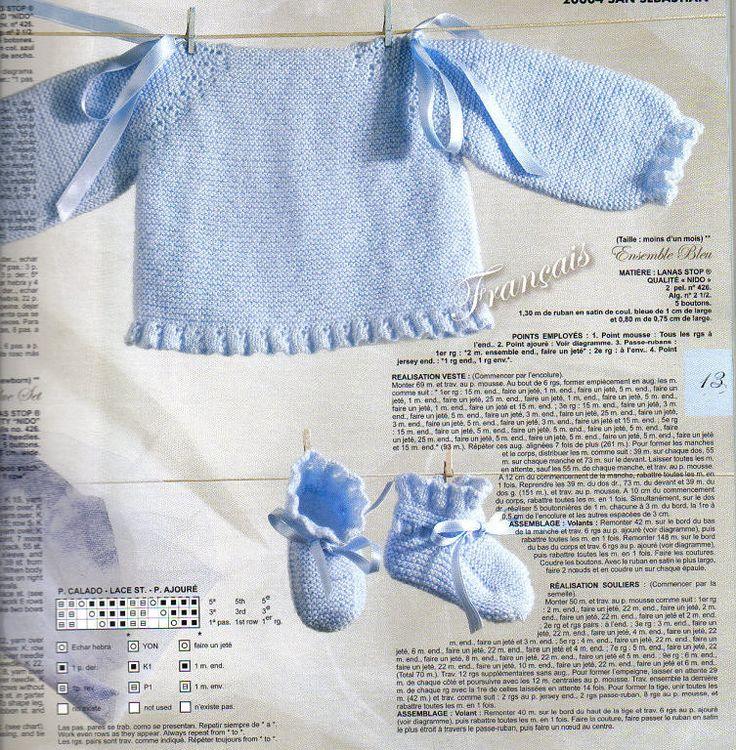 Foto ampliada ideas crochet mini pinterest stitches - Como hacer un jersey de punto ...