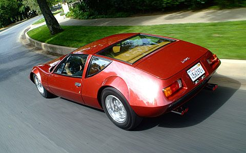 1970 Monteverdi Hai 450SS at 971 South Arroyo Boulevard, Pasadena, CA - Saw this car being loaded up while on my bike ride.