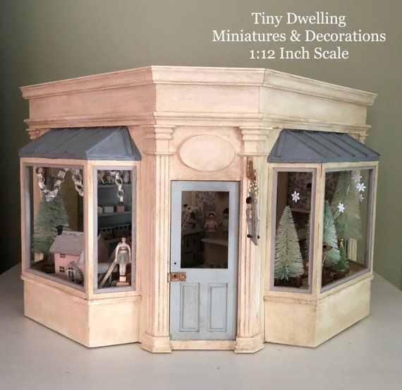 Dollhouse Toy Store Miniature Toy Store Miniature Room Box Toy