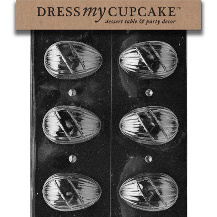 Amazon.com: Dress My Cupcake DMCE408 Chocolate Candy Mold, Name Egg, Easter: Kitchen & Dining